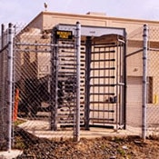 Commercial Galvanized Chain Link Fence
